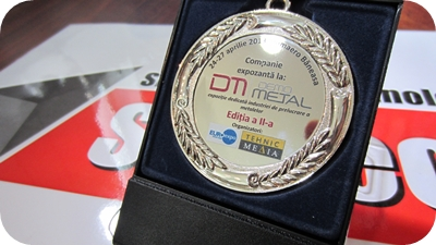 Placheta SM TECH SRL la Demometal 2013