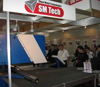 SM TECH la Targul International Tehnic Bucuresti 2008