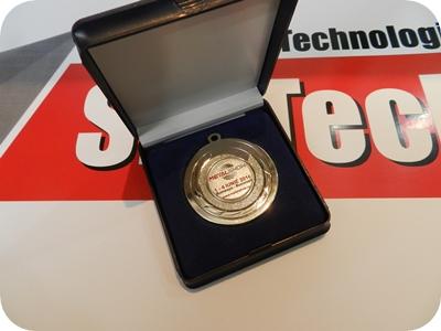 Placheta SM TECH SRL la Metalshow Bucuresti