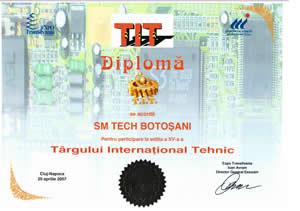 sm tech premiu oras CLUJ 2007