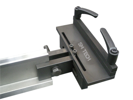 Dispozitiv fixare folie abkant pe laterala prisma