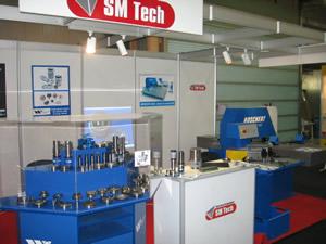 SM TECH TIB 2006 stand expozitie 2