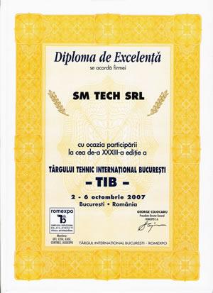 sm tech diploma tib Bucuresti 2007