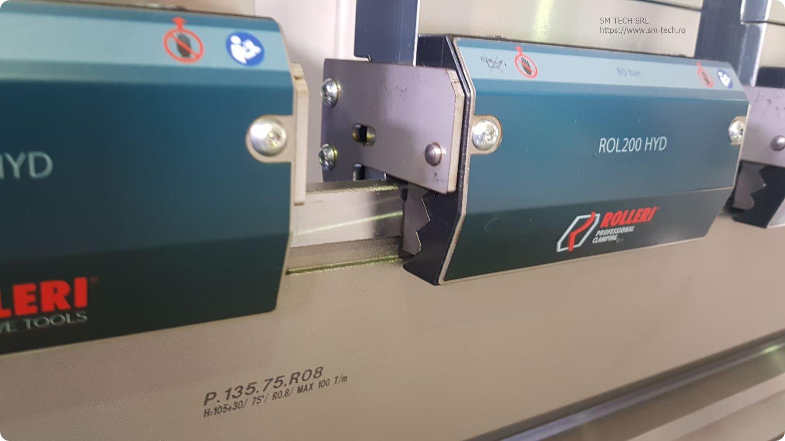 Intermediari prindere rapida hidraulica Rolleri ROL200 HYD