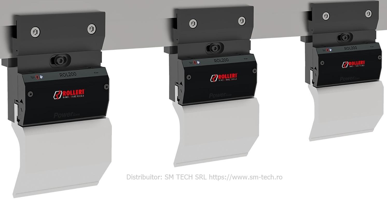 Rolleri ROL200 Powerline clamping system - intermediari fixare cutite abkant ROL200 Powerline