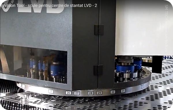 Scule Wilson Tool pentru masini de stantat LVD - scule LVD